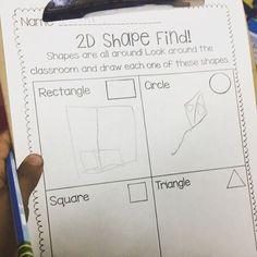 Go on a 2D Shape Hunt in your classroom!  (scheduled via http://www.tailwindapp.com?utm_source=pinterest&utm_medium=twpin)