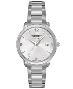 Tissot Watch, Women's Swiss Everytime Stainless Steel Bracelet T0572101103700