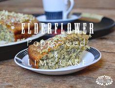 Fern & Olive : Elderflower, Poppyseed & Lime Cake