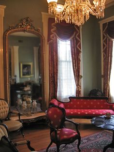 Parlor at Oakleigh Mansion