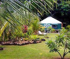 yurt in kauai north shore
