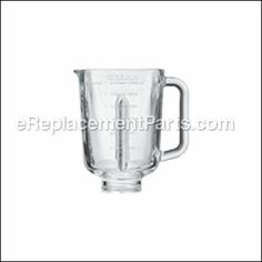 Buy a Cuisinart Blender Jar (Square Glass) [SMO-JAR] for your Cuisinart Appliance - This is a genuine Cuisinart replacement part. The glass blender jar is c. Food Processor Uses, Blender Food Processor, Food Processor Recipes, Appliance Repair, Fix You, Bon Appetit, Appliances, Diy Projects