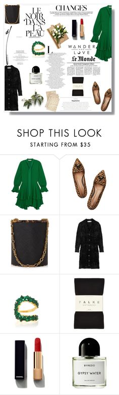 """Whatever the mind can conceive and believe, it can achieve..."" by nina-lala ❤ liked on Polyvore featuring Alice + Olivia, Gianvito Rossi, Dolce&Gabbana, Ryan Lo, Ana Khouri, Falke, Chanel, Cultura and Byredo"