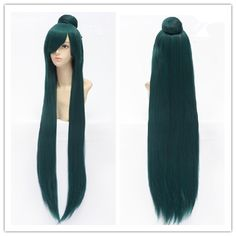 Deep Green Cosplay [Sailor Moon] Sailor Pluto Meiou Setsuna Wig 100cm CP152884