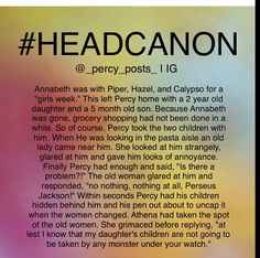 FATHER OF THE YEAR Yeah, that's right Athena. They are safe and happy with him, and so is Annabeth! SO THERE. Percy Jackson Memes, Percy Jackson Books, Athena Percy Jackson, Percy Jackson Couples, Percy Jackson Fanfic, Percy Jackson Head Canon, Percy And Annabeth, Annabeth Chase, Seaweed Brain