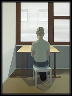 adhemarpo:  Christina Skårud (Suédoise, 1973- ) - Chambre avec vue (2003)