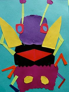 matisse bugs – great for science / for math, introducing (well, vaguely) symmetr… – Animals Time Minibeast Art, Matisse Art, Henri Matisse, Bug Art, Insect Art, Art Lessons Elementary, Art Activities, Educational Activities, Grade 1