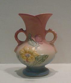 Vintage Hull Pottery Art Vase 1946 Magnolia USA by EvelynnsAlcove, $28.00