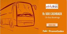 #Abhibus #Dewali #Offer: Get  Rs 500 Cashback On #BusTicket Booking.
