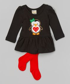 Look at this sissymini Black Penguin Top