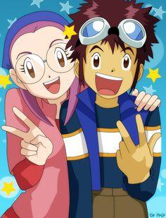 Fanarts of Digimon's seasons