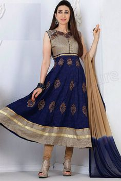 Latest And New Karishma Kapoor Anarkali Frocks Collection
