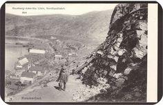 Hammerfest i Finnmark tidlig 1900-tall Utg Hamburg-Amerika Linie, Nordlandsfahrt.