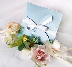 Partecipazione nozze in azzurro serenity collezione tiffany