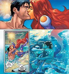 Starfire Comics, Robin Starfire, Nightwing And Starfire, Arte Dc Comics, Marvel Comics, Math Comics, Univers Dc, Comics Love, Marvel Cosplay
