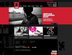 Chrome Bag's Website landing page