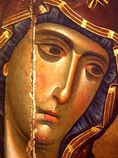 Byzantine Art, Byzantine Icons, Religious Icons, Religious Art, Madonna, 3 4 Face, Beautiful Morning Messages, Religion Catolica, Face Icon