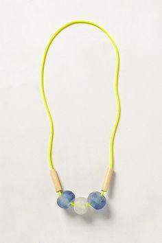 Popple Peak Rope Necklace #anthropologie