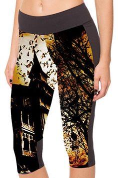 COCOLEGGINGS Stylish Womens Nightfall Printed 3/4 Length Pants Sport Leggings S COCOLEGGINGS http://www.amazon.com/dp/B013G92WMU/ref=cm_sw_r_pi_dp_pHd7vb0FPHZ6X
