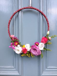Make it Sewcial... flower wreath – The People shop …