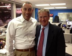 Dr. Neil Frank dropped by KHOU 11 News to say hello to Sports Anchor Butch Alsandor. We miss you Doc!