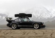 porche carrying awesome tire cargo. great capture #tumblr #novacaine