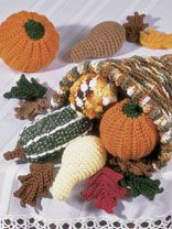 Free Fall Crochet Patterns - Halloween Crochet Patterns - Page 1 Crochet Fruit, Crochet Pumpkin, Crochet Fall, Holiday Crochet, Crochet Home, Crochet Crafts, Yarn Crafts, Crochet Flowers, Crochet Projects