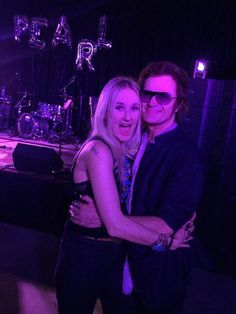 With my friend Pearl Aday at her birthday party in Los Angeles. She sure can sing!!