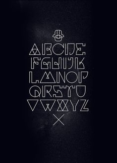 Art Deco Typography Inspo for BY logo