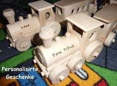 Der Zuge Spielzeug aus Holz