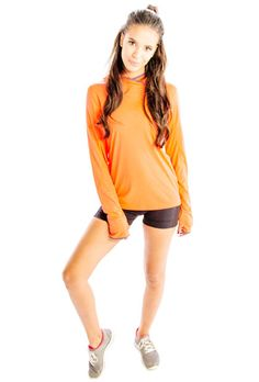 Get Gaudy orange hooded jacket at discount price. More at http://www.clothingdropshipping.com/product/gaudy-orange-hooded-jacket/