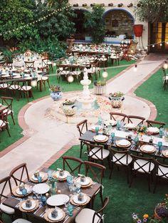 Krista and Adam — Jane Castle Events Style Hacienda, Hacienda Wedding, Wedding Set Up, Dream Wedding, Wedding Ideas, Wedding Themes, Perfect Wedding, Wedding Places, Wedding Venues