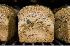 Dave's Killer Bread (a.k.a. $5 bread) is out of this world, so I tried out a version of my own. Here it is! 2¼ c of warm water ...