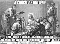CHRISTIAN NATION - A riff on the separation of church and state.