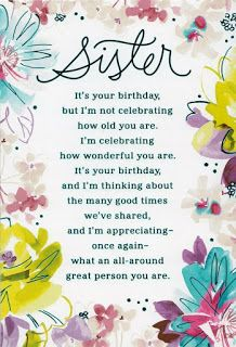 90 Happy Birthday Sister Quotes, Funny Wishes, Cake Images Collection Birthday Greetings For Sister, Happy Birthday Wishes For A Friend, Birthday Wishes Funny, Happy Birthday Sister, Happy Birthday Images, Birthday Humorous, Happy Birthdays, Birthday Captions, Birthday Blessings