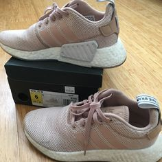 sale retailer 6a3b5 3afc2 adidas Shoes   Adidas Dusty Pink Nmd R2   Color  Pink   Size  6
