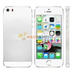 PA A77S ( i5S 1:1) 3G Smartphone IOS 7.0 UI Quad Band MTK6577 Dual Core with NanoSIM/Wi-Fi/GPS 4FWVGA Capacitive Touch Screen(White)