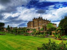 Culzean Castle  This is the perfect place for those that love beautiful gardens, architecture and some history.
