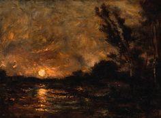 Charles Daubigny - Crepúsculo
