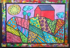 Who doesn 't love patterns?   Two things that my students are great at are Painting and Patterns!   In class we discuss what is a symb...