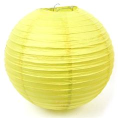"Amazon.com: Shot-in Yellow 10 pcs Round Chinese Paper Lanterns Lamp 10"" Wedding Party Decoration: Home & Kitchen"
