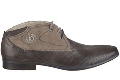 #FridaysFavourite | Lace shoe with material mix in dark brown. #bugattifashion #ss15 #menswear #shoes #brown #tgif