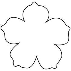 Hawaiian Theme, Hawaiian Flowers, Tropical Flowers, Paper Flowers For Kids, Paper Flowers Wedding, Fabric Flowers, Flower Petal Template, Leaf Template, Templates