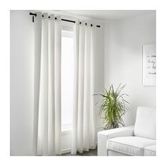 """MERETE Curtains, 1 pair - 57x98 """" - IKEA  (2 sets) for Master Bedroom and (1 set) for Office/Guest Bedroom"""