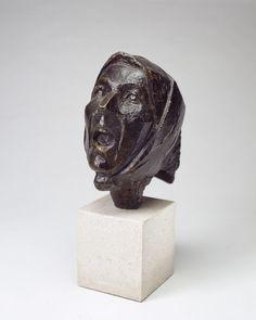 julio gonzalez sculpture | González, Julio - Head of Montserrat Screaming II - Cubism ...