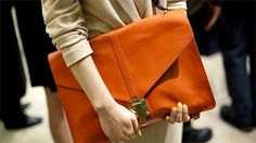 orange-clutch by {this is glamorous}, via Flickr