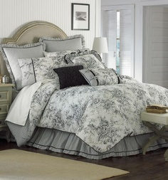 295 Best Toile bedroom inspirations images | Decorating ideas, Bed
