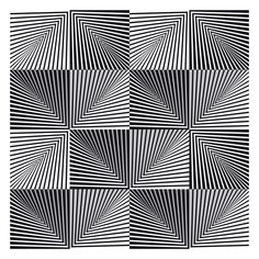 op art image of the day - five lined pyramids - Mode Logos, Op Art Lessons, Opt Art, Arte Linear, Cool Optical Illusions, Illusions Mind, How To Draw Illusions, Illusion Drawings, 3d Illusion Art