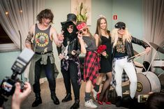 Me and my family as Guns n' Roses