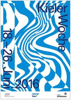 Kieler Woche 2016 #pster #posterdesign